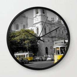 Lisbon Tram 28 Wall Clock