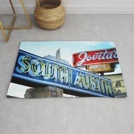 South Austin Neon Rug