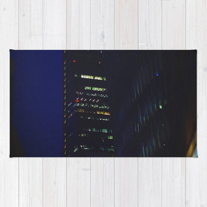 Night scape London Style Rug