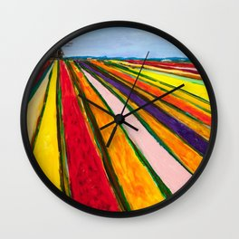 The Colors of Amsterdam Wall Clock