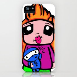 cute toon  iPhone Case