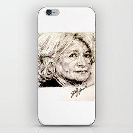 Martha iPhone Skin