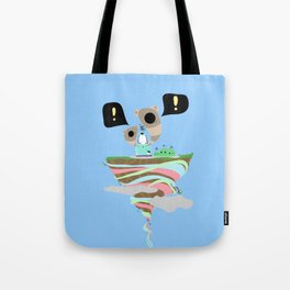 Dreaming for an adventure. Tote Bag