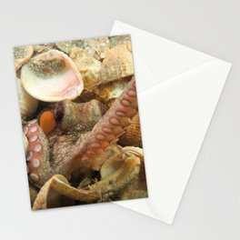 Octopus Reach Stationery Cards