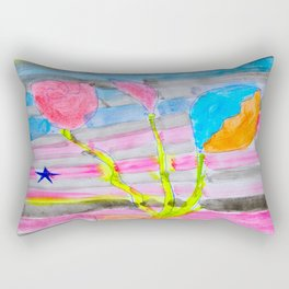 Yolo Love   Flower by Elisavet   #society6 Rectangular Pillow