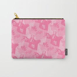 Comanche Camo Pink Carry-All Pouch