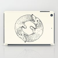 eat iPad Cases featuring Dog Eat Dog by Andrew Henry
