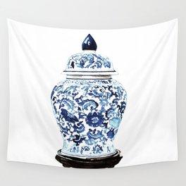 GINGER JAR NO. 4 PRINT Wall Tapestry