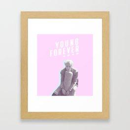 Young Forever Jin Framed Art Print