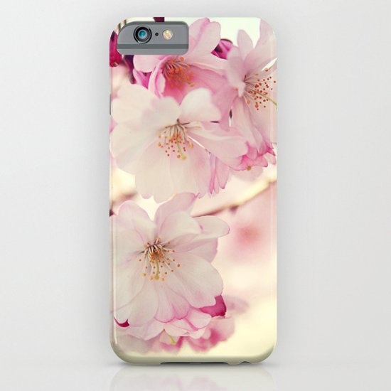 cotton candy flowers iPhone & iPod Case