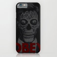 They Live. Obey. Screenplay Print. Slim Case iPhone 6s