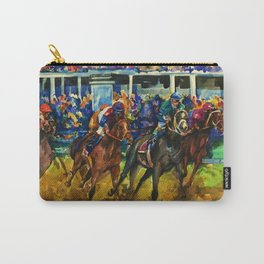 The Race No. 2 by Kathy Morton Stanion Carry-All Pouch