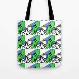 Monster Maddness Tote Bag