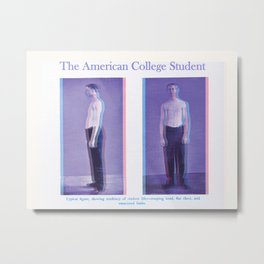 The American College Student (1894) Metal Print