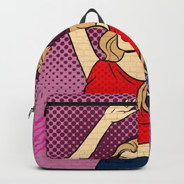 Music Dancing Girl Backpack