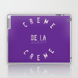 Creme de la Creme - joie de vivre Purple Laptop & iPad Skin