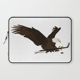 Ice Hockey Eagle Laptop Sleeve