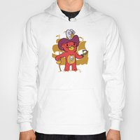 captain hook Hoodies featuring Captain Bear Hook by pepemaracas