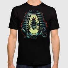 THE FLY: TELEPOD Black MEDIUM Mens Fitted Tee