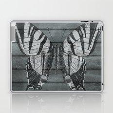 Wood Butterfly Laptop & iPad Skin