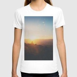 sunrise on Mt Woodson ... T-shirt