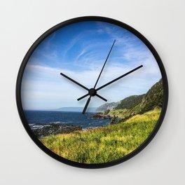 Gros Morne Wall Clock