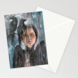Blurred Lines Stationery Cards