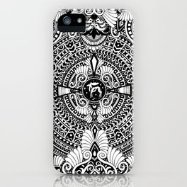 deer mandala iPhone Case