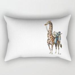 Numero 6 -Cosi che cavalcano Cose - Things that ride Things- Rectangular Pillow