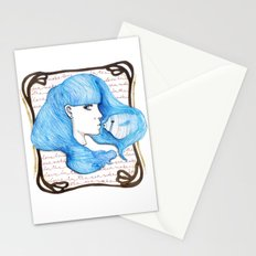 Make love in the Sea Stationery Cards