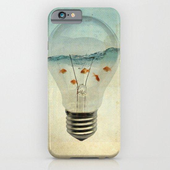 blue sea thinking iPhone & iPod Case