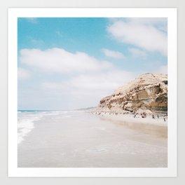 The Coast of Dreams Art Print