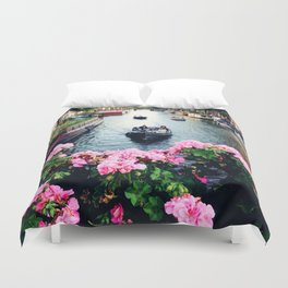 in love with Amster  Duvet Cover