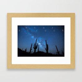 STAR STRUCK Framed Art Print
