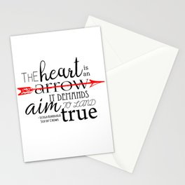 THE HEART IS AN ARROW | SIX OF CROWS BY LEIGH BARDUGO Stationery Cards