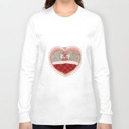 Hedgehog Heart Long Sleeve T-shirt