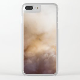 Smokey Skies Clear iPhone Case