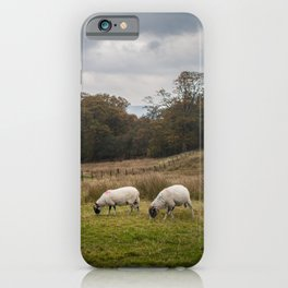 Storms and sheep iPhone Case
