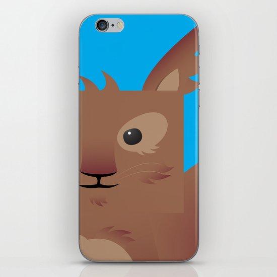 Furry Squirrel iPhone & iPod Skin