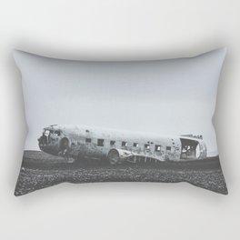 Sólheimasandur Plane Wreck, Iceland Rectangular Pillow