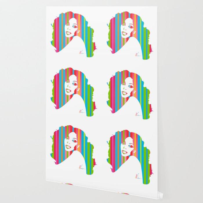Donna Summer | Pop Art Wallpaper