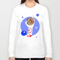 the moon Long Sleeve T-shirts featuring Moon by scoobtoobins