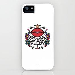 Bésame Mucho - Kiss Me A Lot (BKMC) iPhone Case