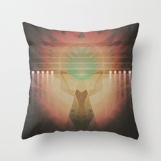 Turquoise Traditions Throw Pillow