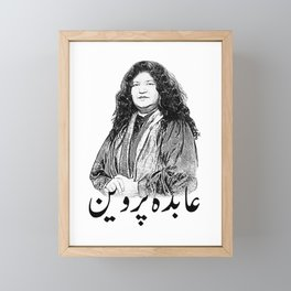 Abida Parveen Framed Mini Art Print