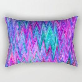 Holographic Mountains Rectangular Pillow