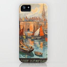 Vintage poster - France iPhone Case