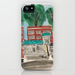 Uptowne High Point iPhone Case