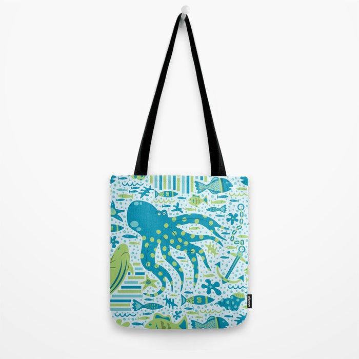 SEA PATTERNS Tote Bag