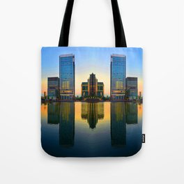 Mirrored in Water Tote Bag